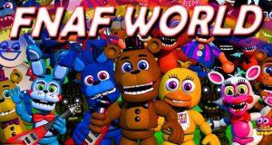 FNAF World DeMo Game - FNAF Ultimate Custom Night