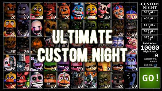 Ultimate Custom Night - FNAF Ultimate Custom Night