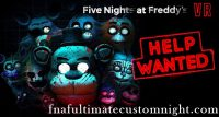 Fnaf VR: Help Wanted