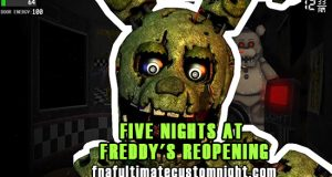 Five Nights At Freddy's Reopening